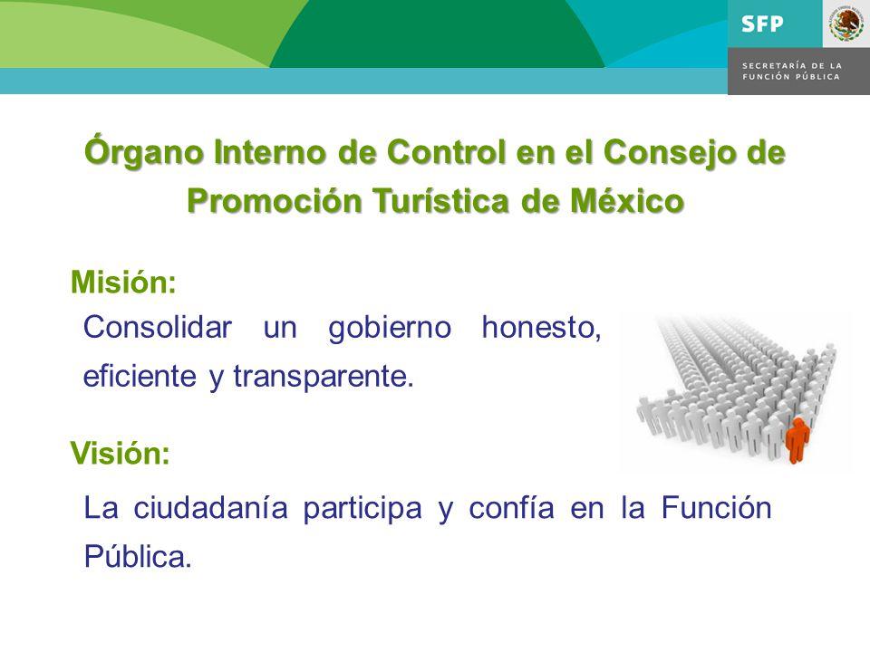 Visión: La ciudadanía participa y confía en la Función Pública.