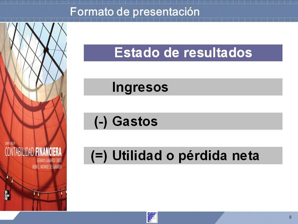8 Formato de presentación