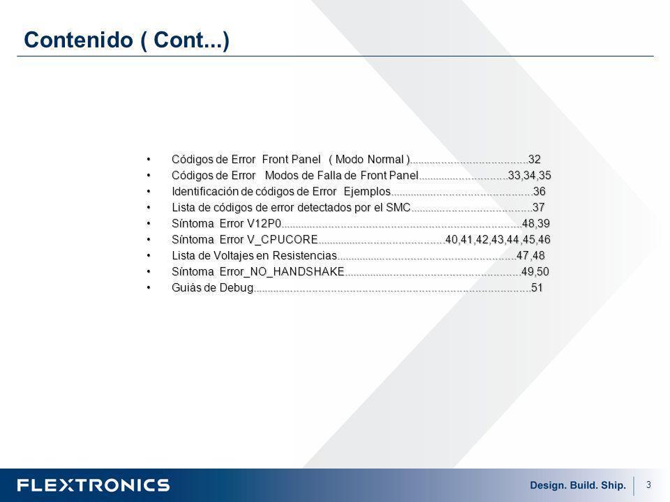 24 Monitoreo de Temperatura El XBOX360 tiene diodos de temperatura situados dentro del silicon en el GPU, CPU y la EDRAM.
