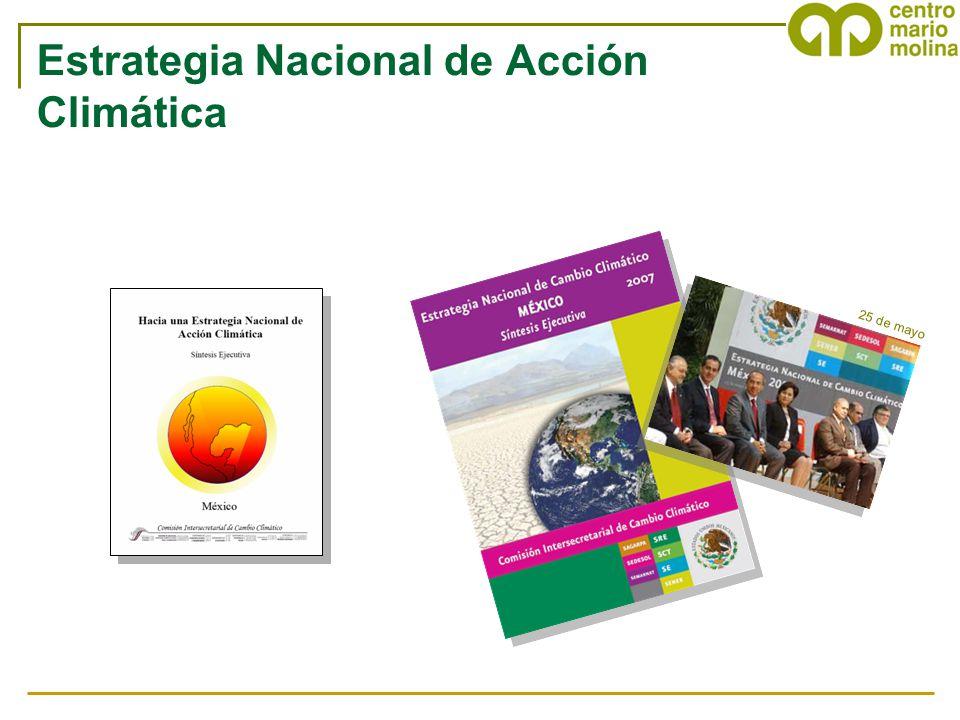 25 de mayo Estrategia Nacional de Acción Climática