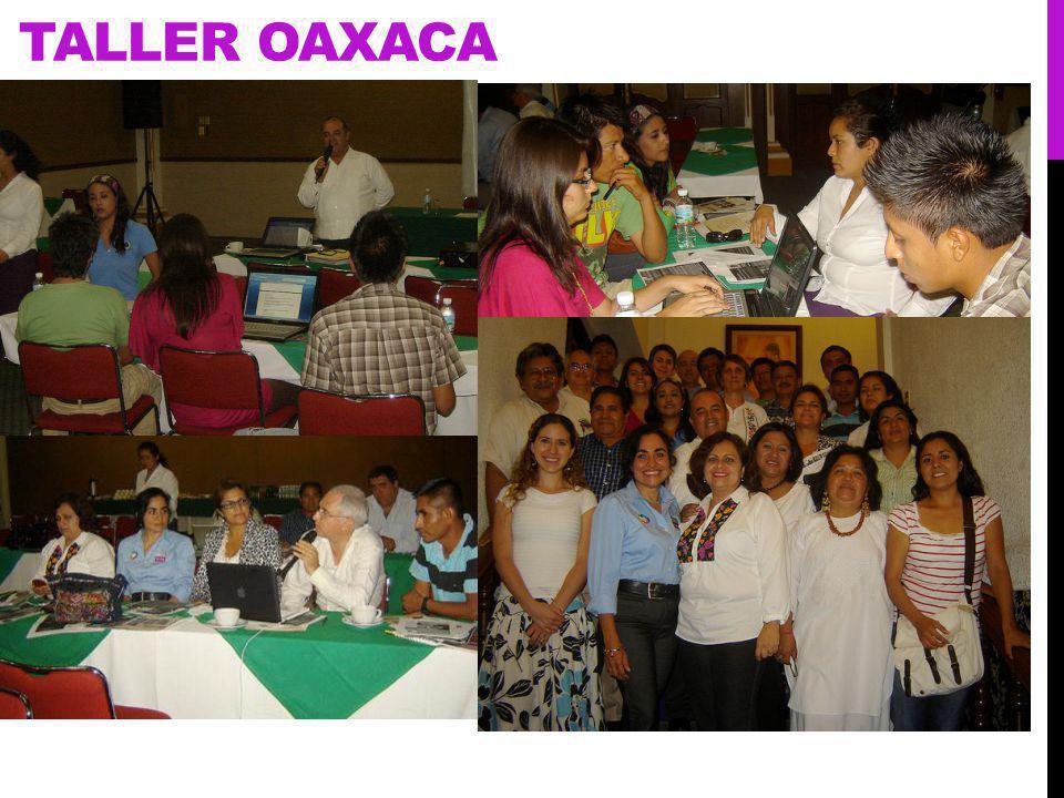 TALLER OAXACA