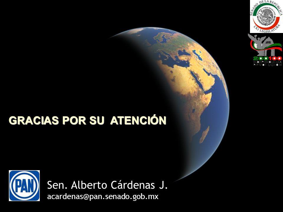 15 GRACIAS POR SU ATENCIÓN Sen. Alberto Cárdenas J. acardenas@pan.senado.gob.mx
