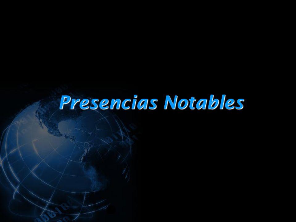 Presencias Notables