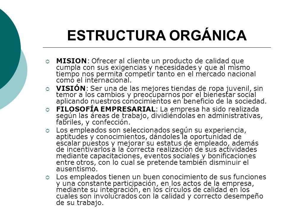 GIRO DE LA EMPRESA Es una empresa de giro comercial, ya que es un establecimiento que se dedica a comprar y vender satisfactores; y en este caso es de