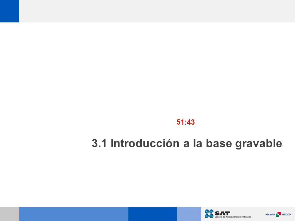 3.1 Introducción a la base gravable 51:43