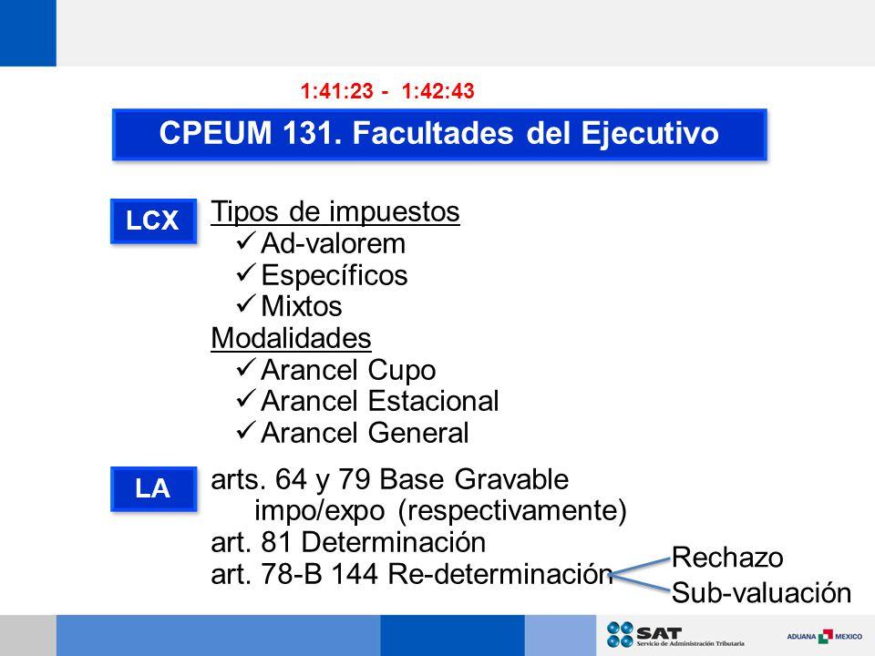 CPEUM 131.