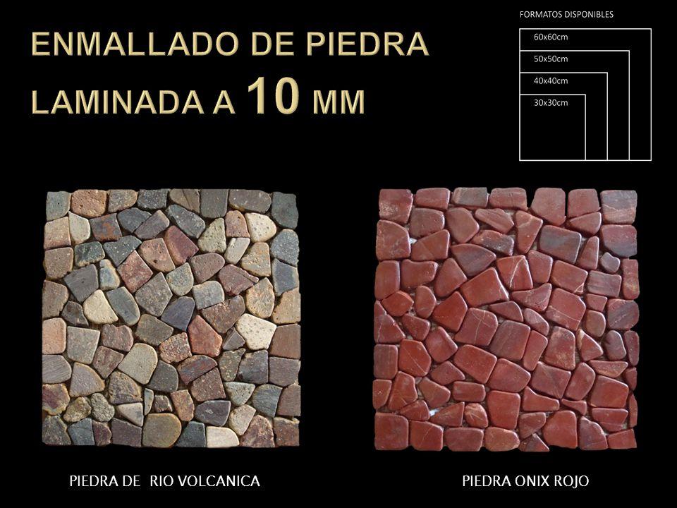 PIEDRA DE RIO VOLCANICAPIEDRA ONIX ROJO
