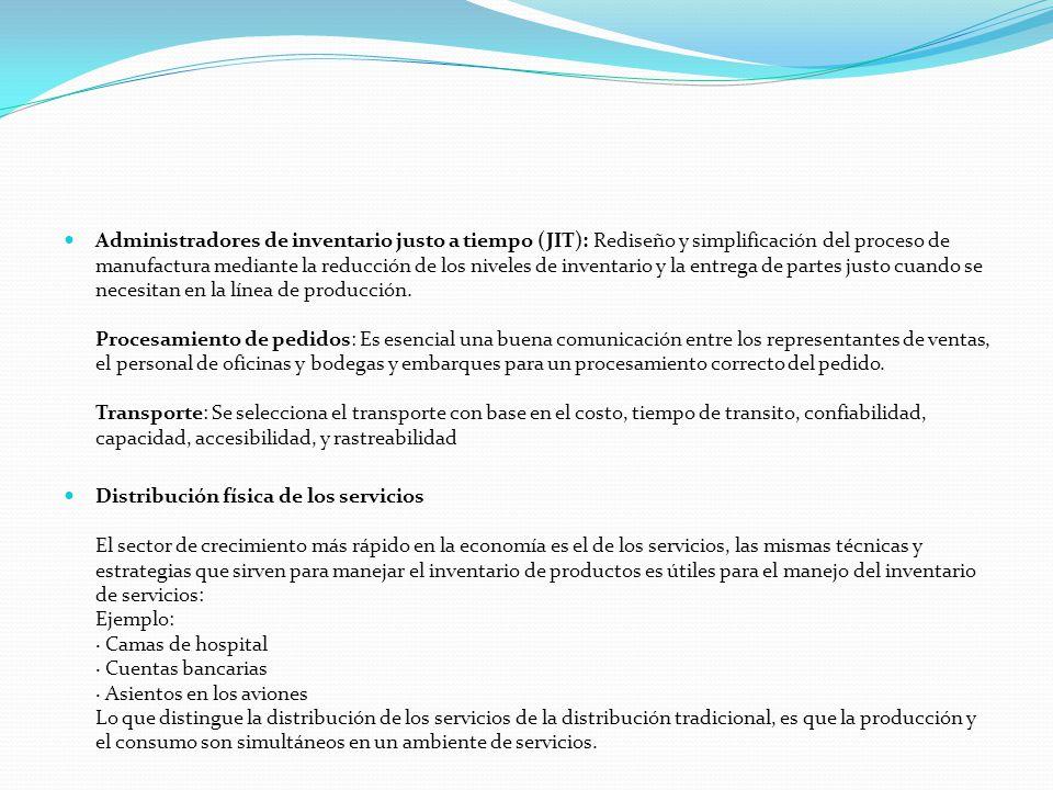 Administradores de inventario justo a tiempo (JIT): Rediseño y simplificación del proceso de manufactura mediante la reducción de los niveles de inven