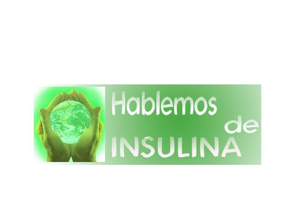 Alimento Bolo: Con las comidas, se libera rápidamente insulina, en respuesta al alimento.