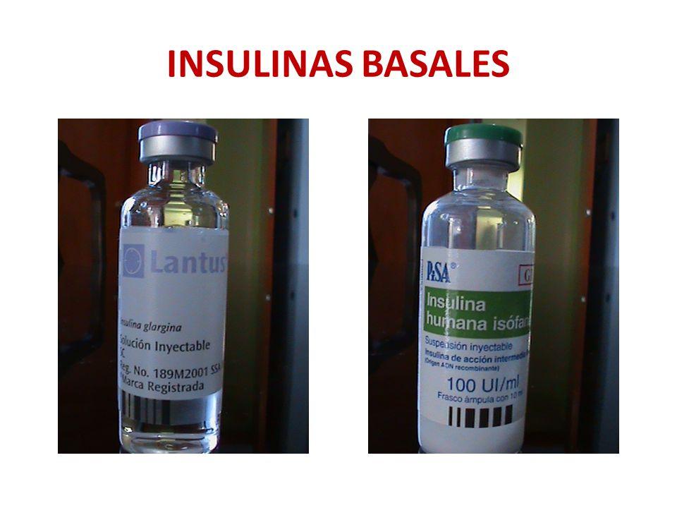 INSULINAS BASALES