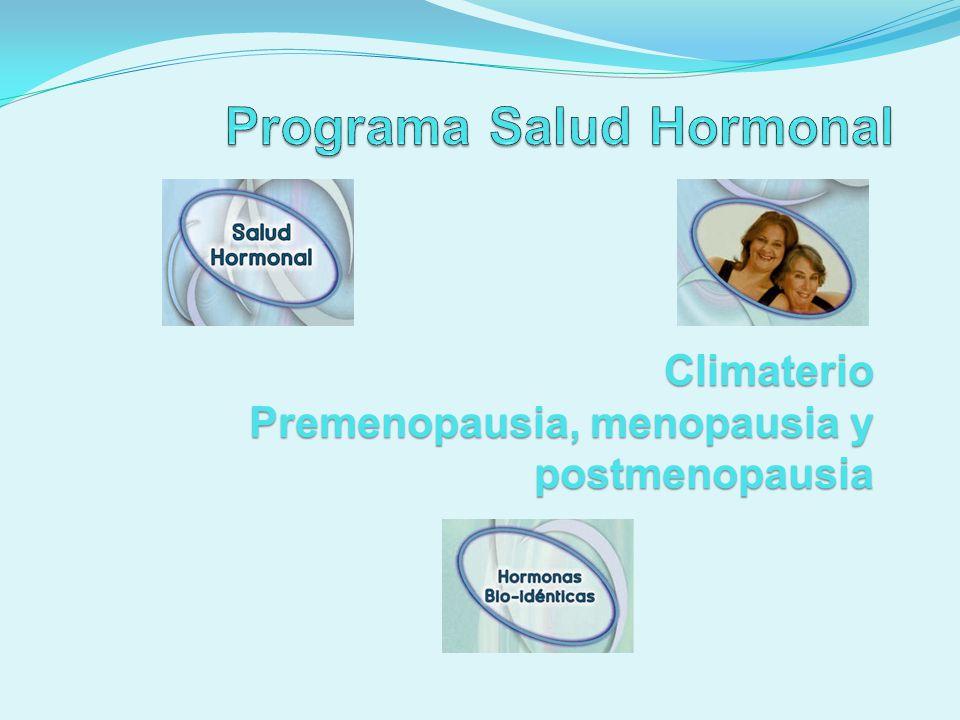 Hormonas Bio-dénticas Características 5.