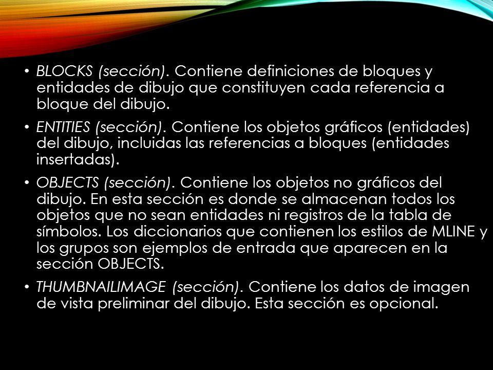 BLOCKS (sección).