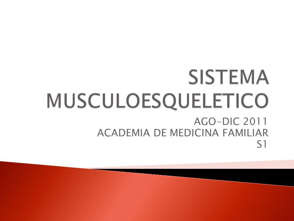 AGO-DIC 2011 ACADEMIA DE MEDICINA FAMILIAR S1