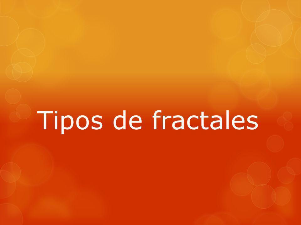 Tipos de fractales
