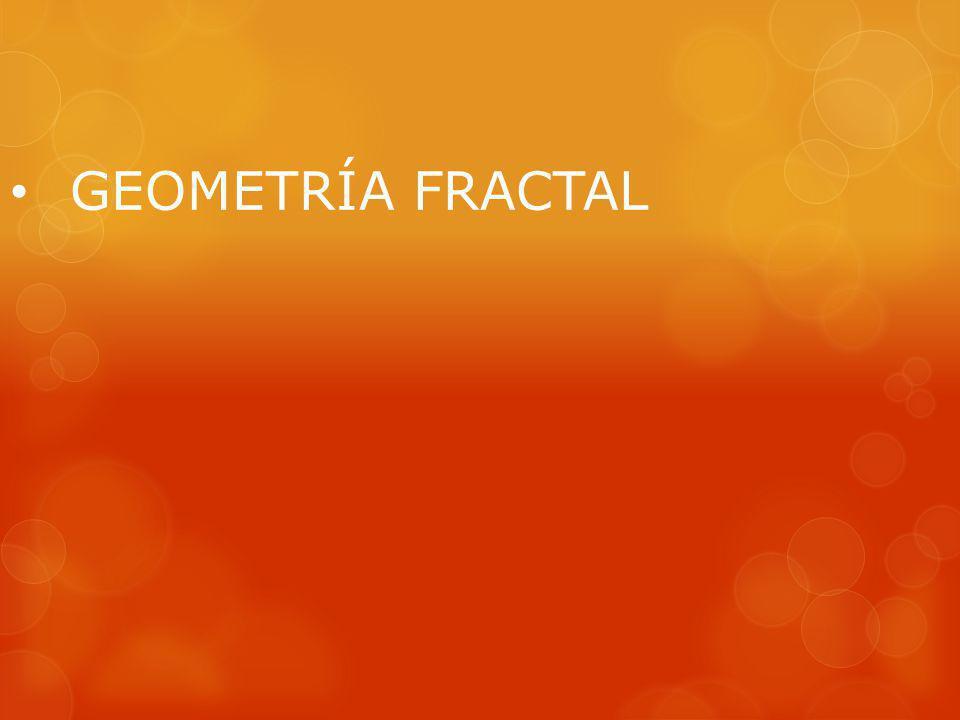 Sin embargo, no es este el caso de los fractales no lineales.