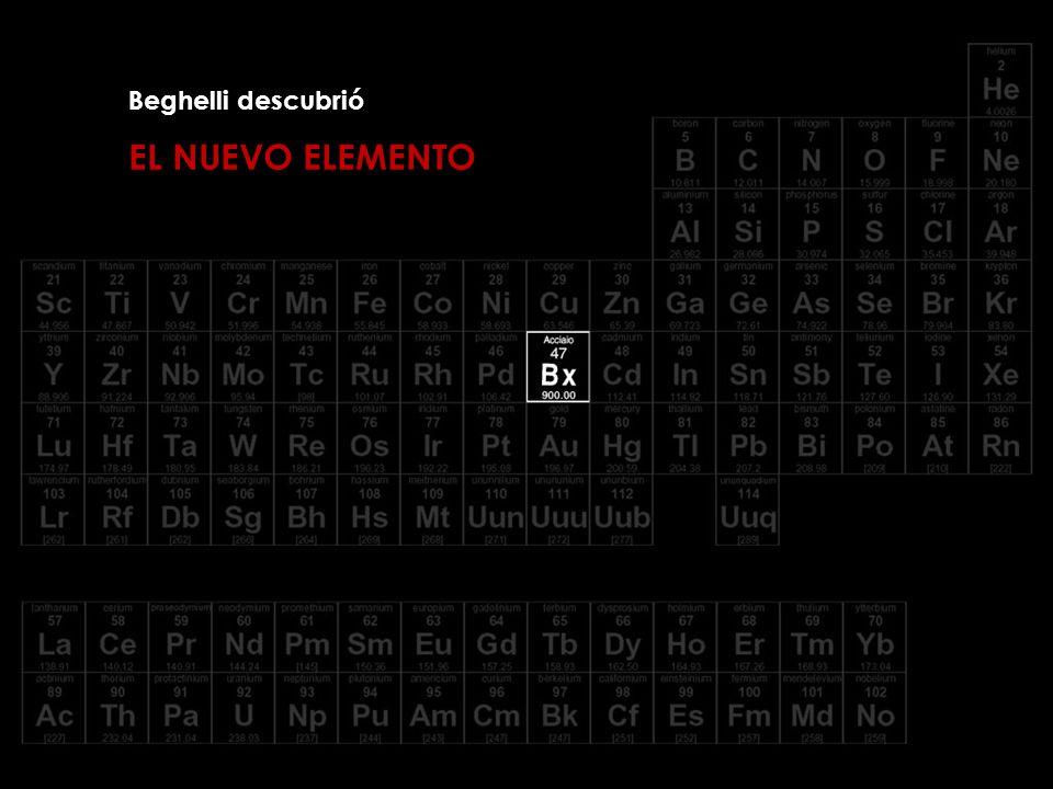 Beghelli descubrió EL NUEVO ELEMENTO