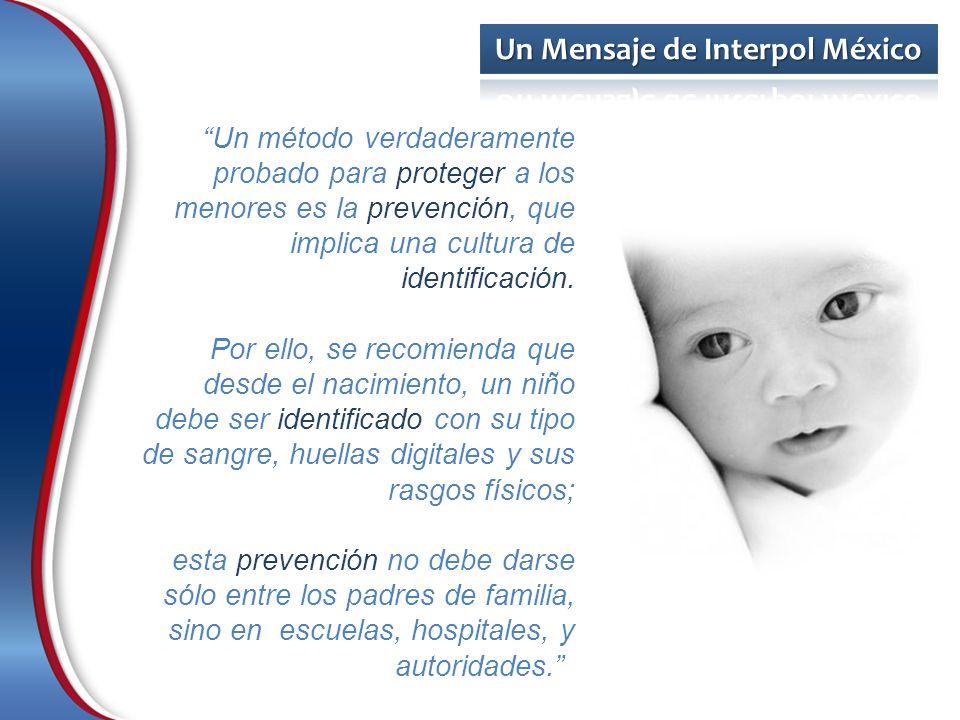 Un método verdaderamente probado para proteger a los menores es la prevención, que implica una cultura de identificación.