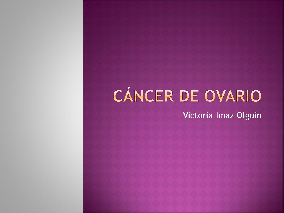 Niveles de Ca 125 RR a 1 año (%)RR a 5 años (%) <35 U/ml0.130.54 >35 u/ml35.914.3 100 U/ml204.874.5 Niveles de Ca 125 SensibilidadEspecificidad Estadio I25-75%98.6% Estadio II67-100%99.2% Mujeres pos- menopausia BMJ 1999;313(7069):1355–1358 Int J Cancer 1988;42:677–680.