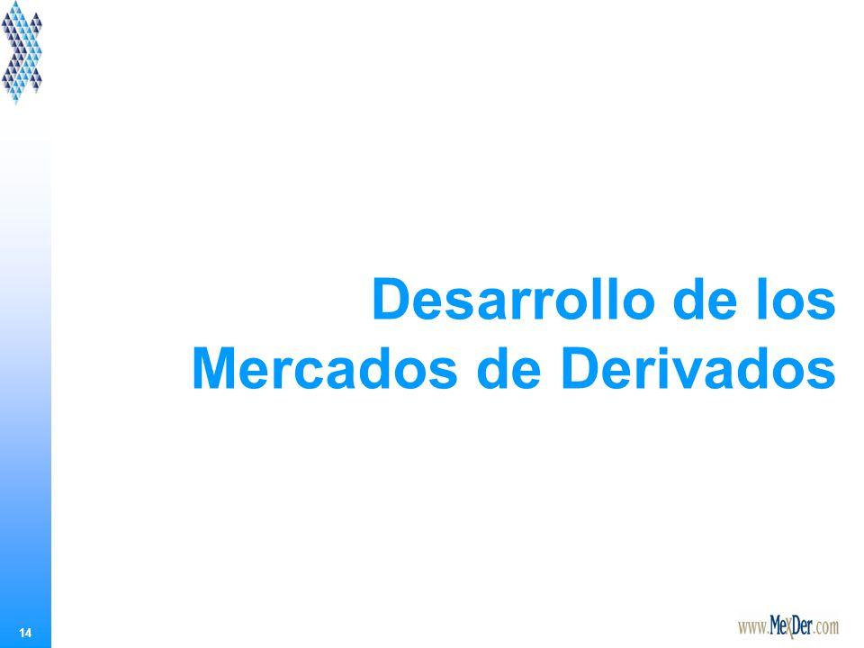 14 Desarrollo de los Mercados de Derivados