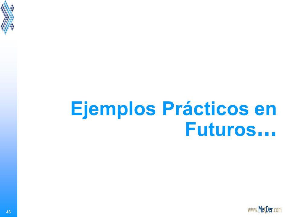 43 Ejemplos Prácticos en Futuros …