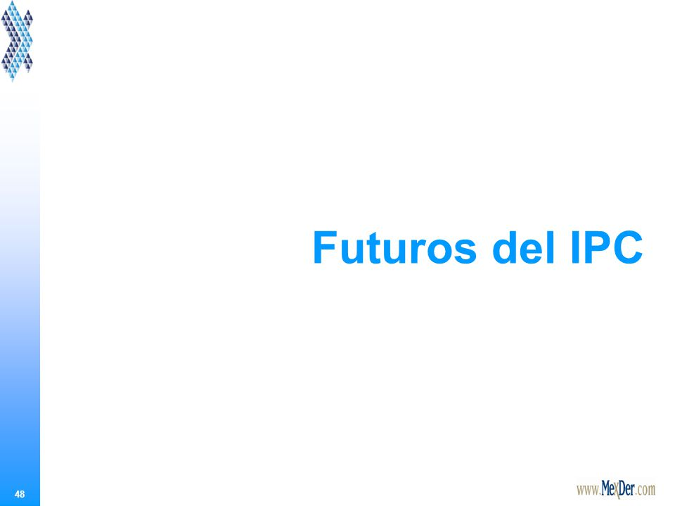 48 Futuros del IPC