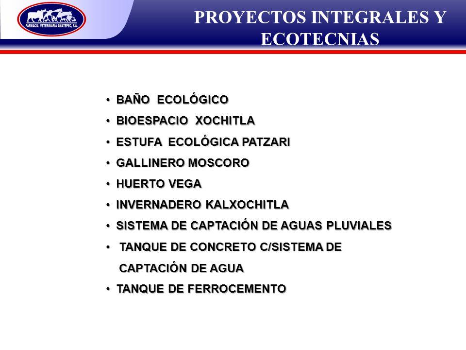 PROYECTOS INTEGRALES Y ECOTECNIAS BAÑO ECOLÓGICO BAÑO ECOLÓGICO BIOESPACIO XOCHITLA BIOESPACIO XOCHITLA ESTUFA ECOLÓGICA PATZARI ESTUFA ECOLÓGICA PATZ