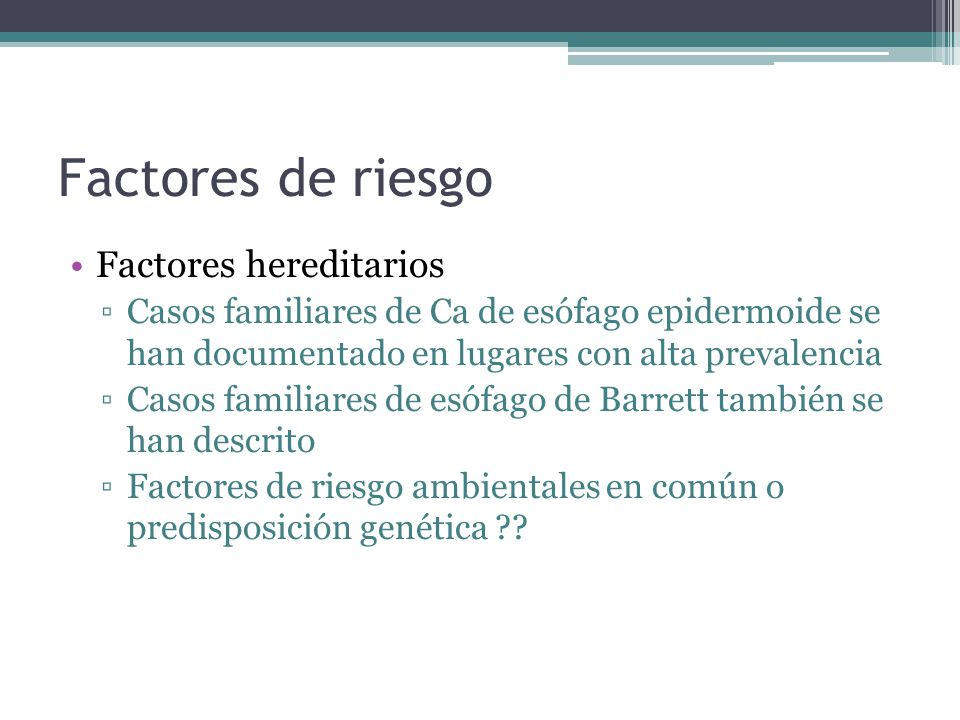 Tipo histológico New classification of oesophageal and gastric. B J Cancer 1999; 80: 834–842
