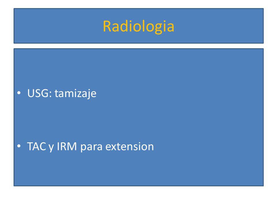 Radiologia Captacion rapida del contraste durante la fase arterial Lavado rapido durante la fase venosa tardia Tumores hipervasculares Extension tumoral No detecta tumores < 1 0 2 cm en higados cirroticos TAC