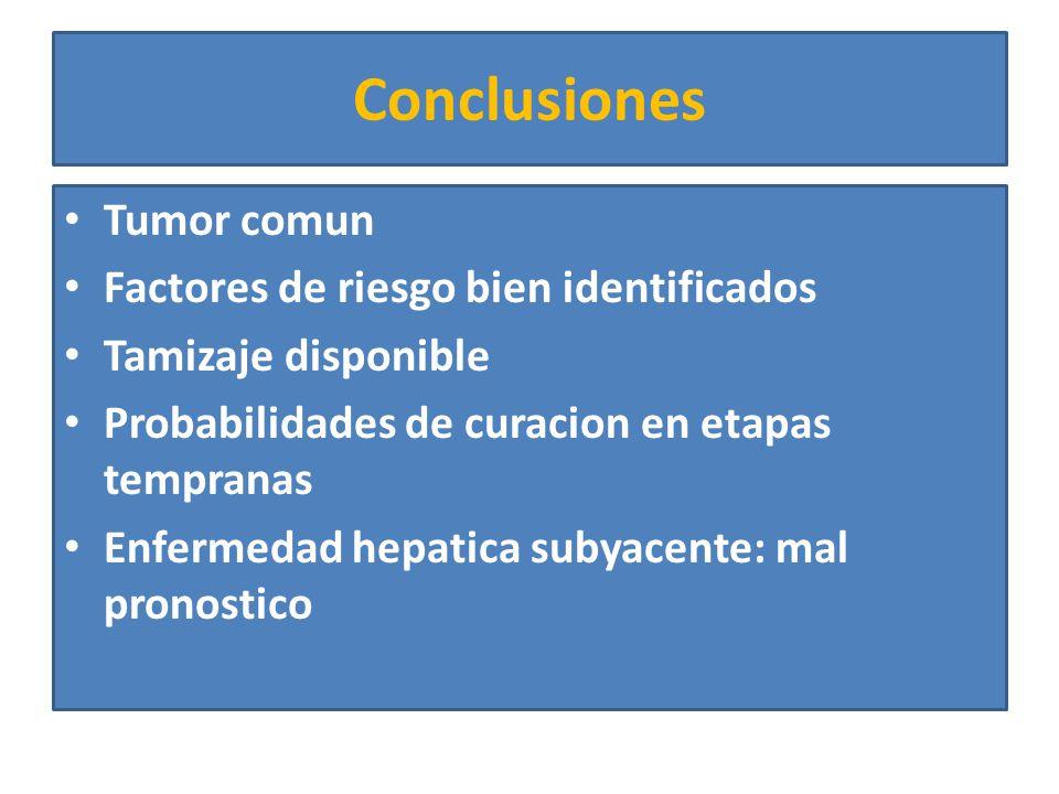 HCC Fibrolamelar Forma poco comun Sin factores de riesgo conocidos Forma comun en muejeres adolescentes AFP negativo Mismo patron radiologico Metastasis al momento del diagnostico Mejor pronostico