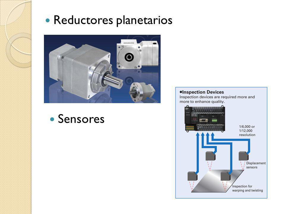 Reductores planetarios Sensores
