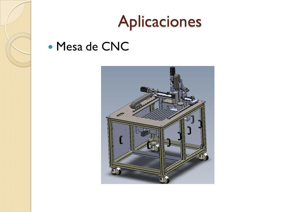 Aplicaciones Mesa de CNC