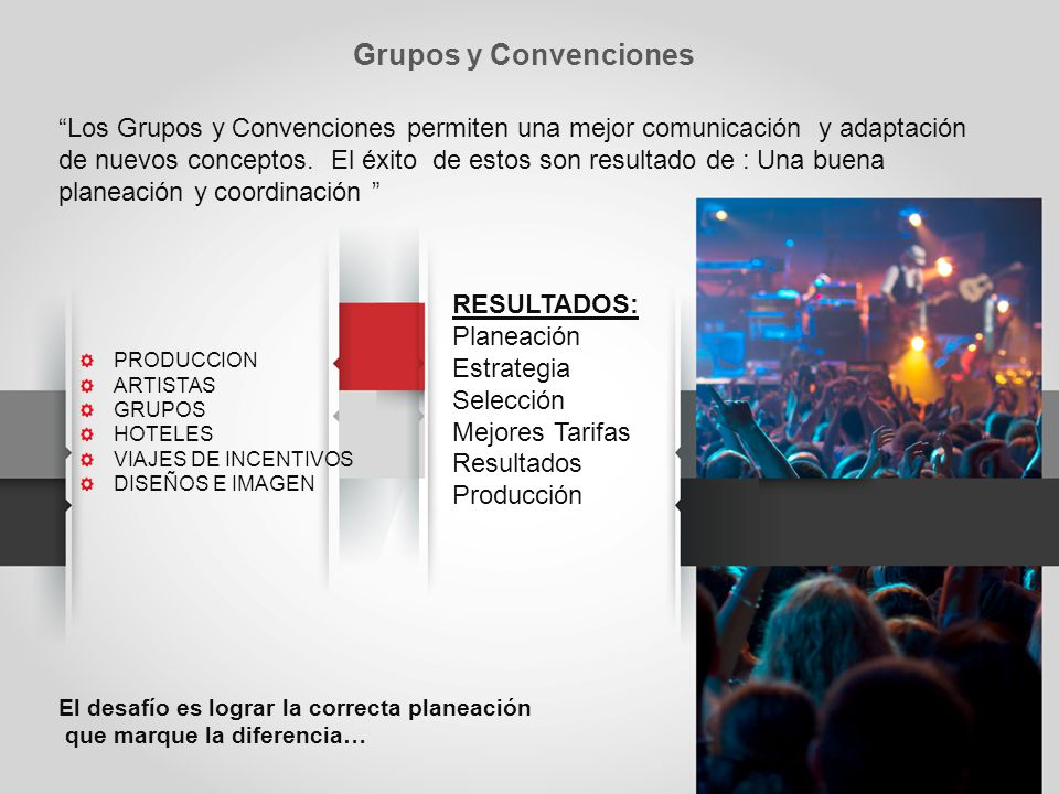 Los Grupos y Convenciones permiten una mejor comunicación y adaptación de nuevos conceptos.