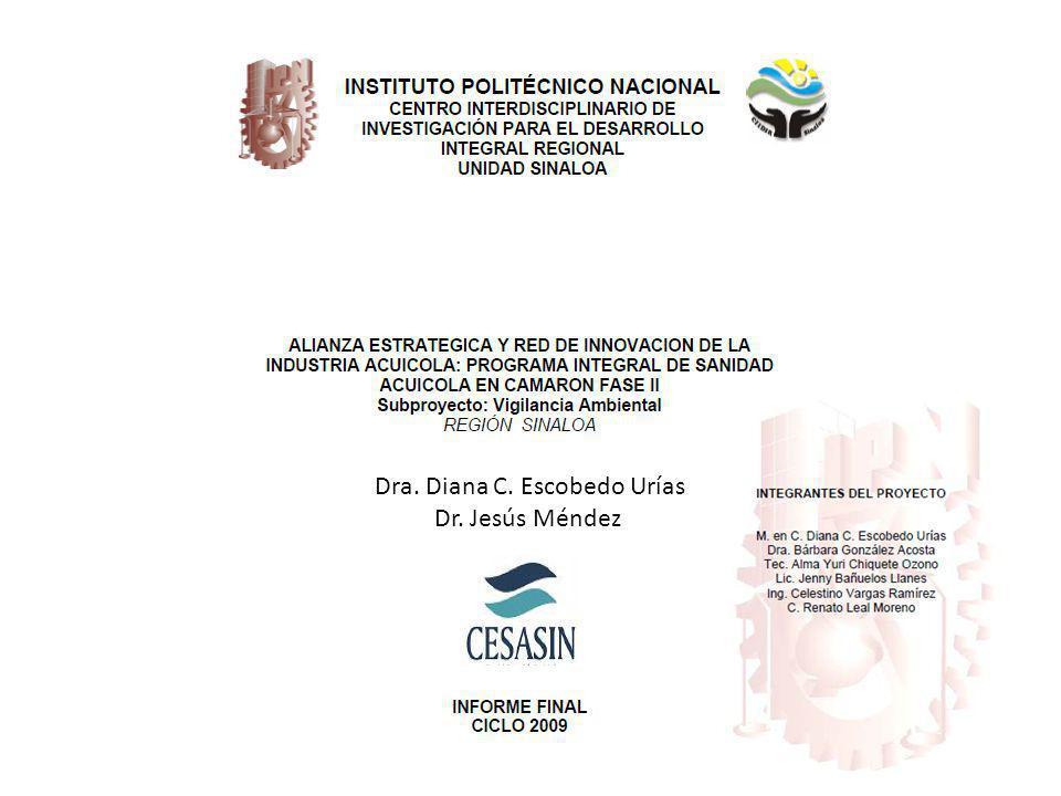 Dra. Diana C. Escobedo Urías Dr. Jesús Méndez