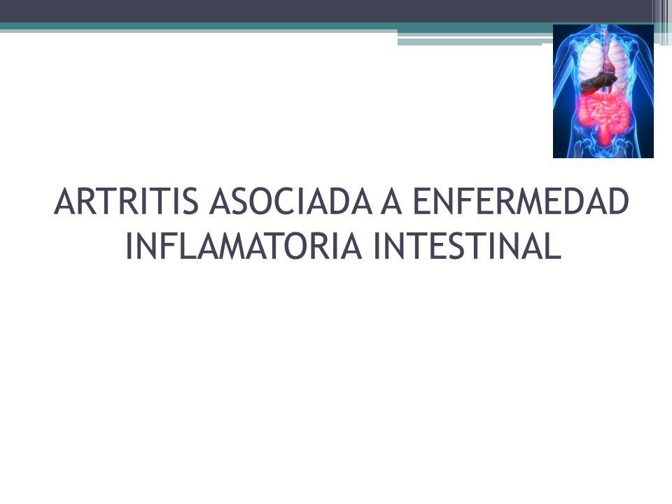 ARTRITIS ASOCIADA A ENFERMEDAD INFLAMATORIA INTESTINAL