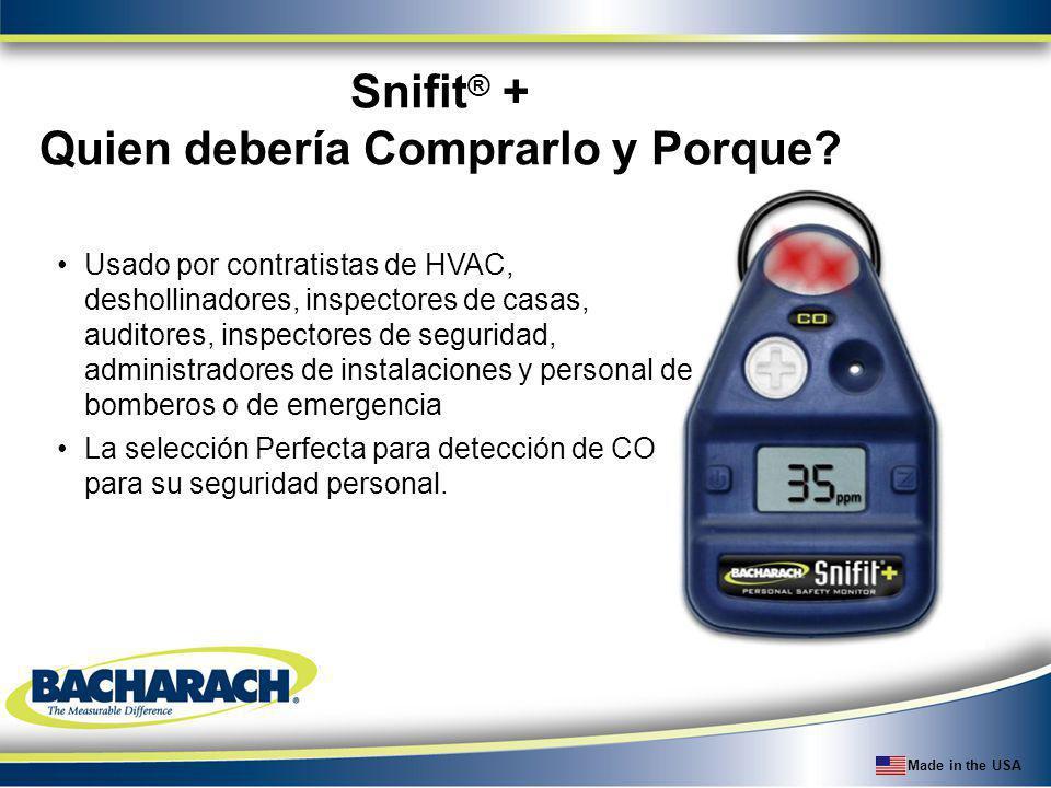 Made in the USA Usado por contratistas de HVAC, deshollinadores, inspectores de casas, auditores, inspectores de seguridad, administradores de instala