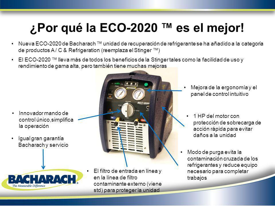 ¿Por qué la ECO-2020 es el mejor! Innovador mando de control único,simplifica la operación 1 HP del motor con protección de sobrecarga de acción rápid