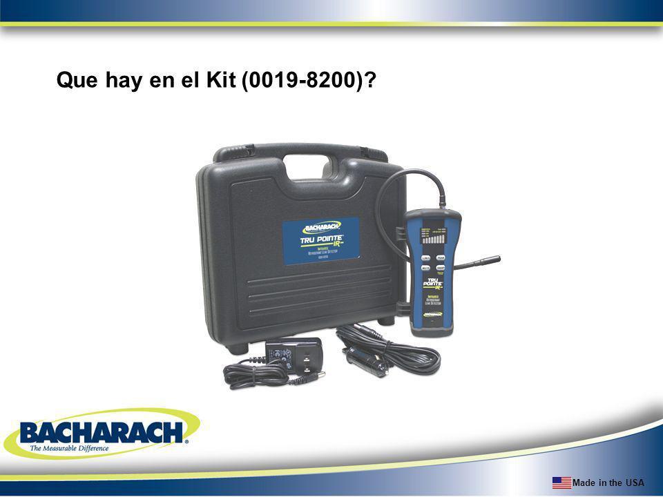 Made in the USA Que hay en el Kit (0019-8200)?