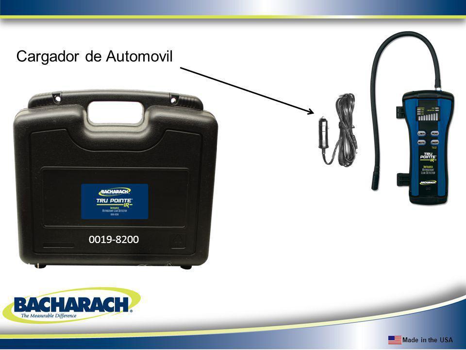Made in the USA Cargador de Automovil 0019-8200