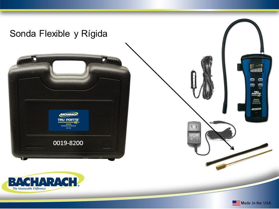 Made in the USA Sonda Flexible y Rígida 0019-8200