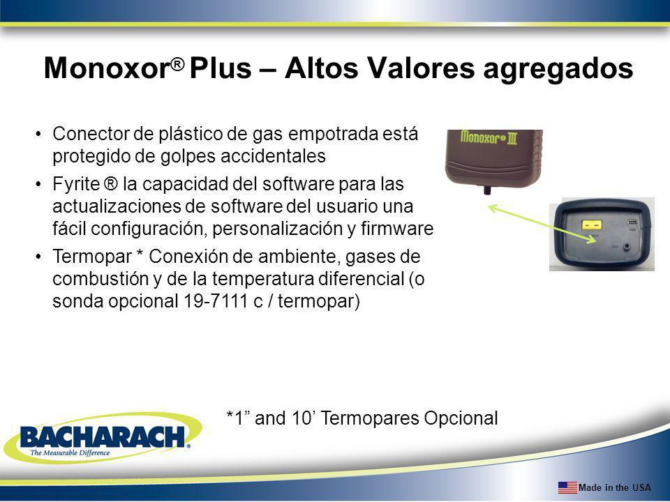Made in the USA Comparación de detectores de fuga de refrigerantes Bacharach Background NOTE: Informant 2 offers dual sesnsor capabilities $229 $399 $429