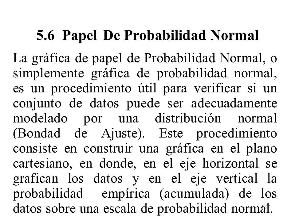 126 PROPOSICION. En particular, para x = un valor posible de X, P(X x) = B(x;n,p) (área bajo la curva normal a la izquierda de x + 0.5) En la práctica