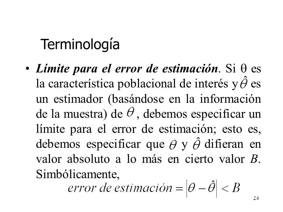 23 Muestreo probabilístico. El planteamiento clásico del problema de estimación estadística requiere que la aleatoriedad esté comprendida en el diseño