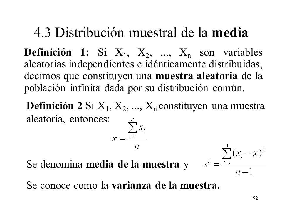 51 Límite para el error de estimación. Si es la característica poblacional de interés y es un estimador (basándose en la información de la muestra) de