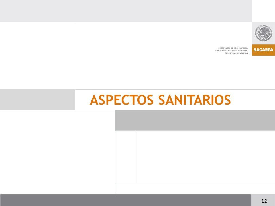 ASPECTOS SANITARIOS 12