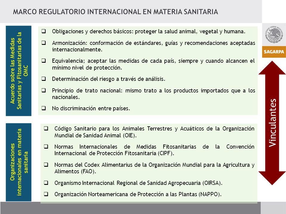 Acuerdo sobre las Medidas Sanitarias y Fitosanitarias de la OMC Obligaciones y derechos básicos: proteger la salud animal, vegetal y humana.