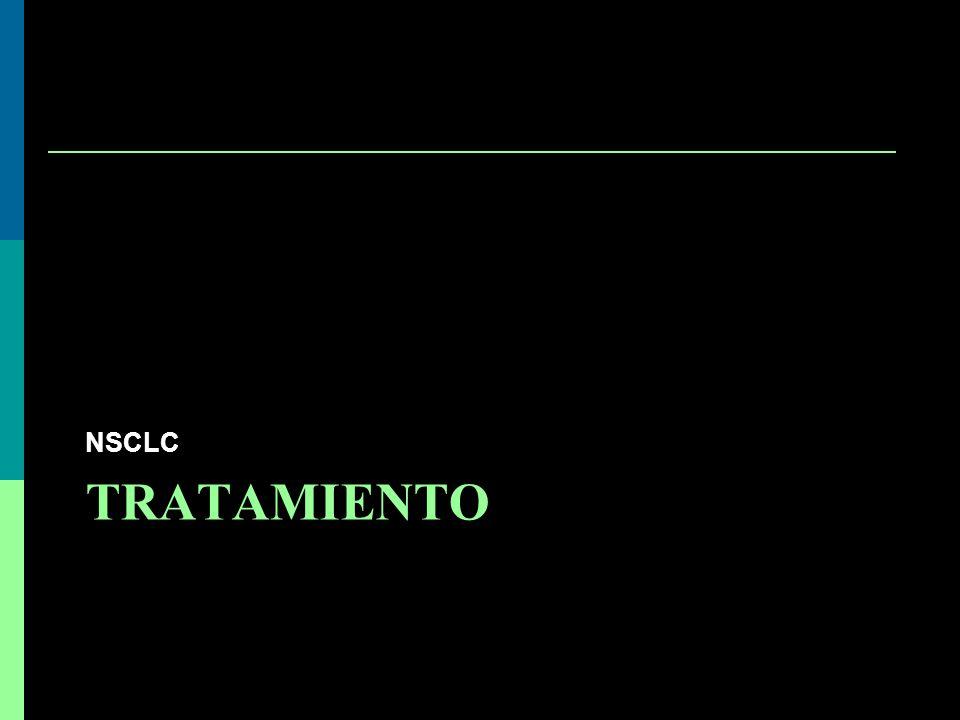 TRATAMIENTO NSCLC