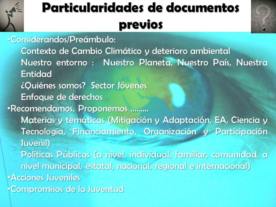 ABRIL 2010 M A Y O J U N I O J U L I O Agosto 1er Parlamento Estatal de Juventud y Cambio Climático Jóvenes de Chiapas Frente al Cambio Climático Encuentro Nacional Juvenil de Biodiversidad y Cambio Climático Segundo Encuentro Juvenil Ambiental Los Jóvenes Frente al Cambio Climático 2do.Congreso Estatal Ambiental Plan de Acción Juvenil Frente al Cambio Climático Congreso Mundial Juvenil sobre Cambio Climático y Pandilla Científica Jóvenes UTTAB, Frente al Cambio Climático 4to.