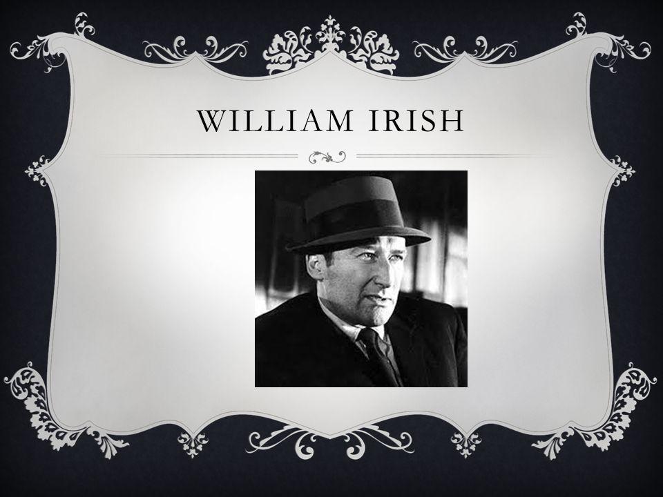WILLIAM IRISH