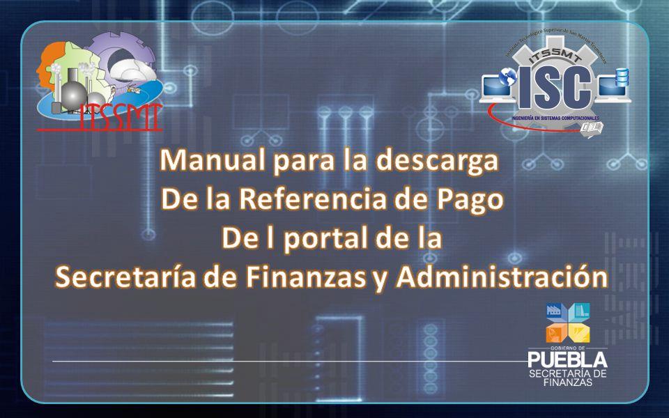 Es importante mencionar que éste manual fue concluido en Agosto de 2013, y que es posible que al transcurrir el tiempo, en el portal oficial de la SFA, efectúen cambios de remodelación y/o actualización sin previo aviso.