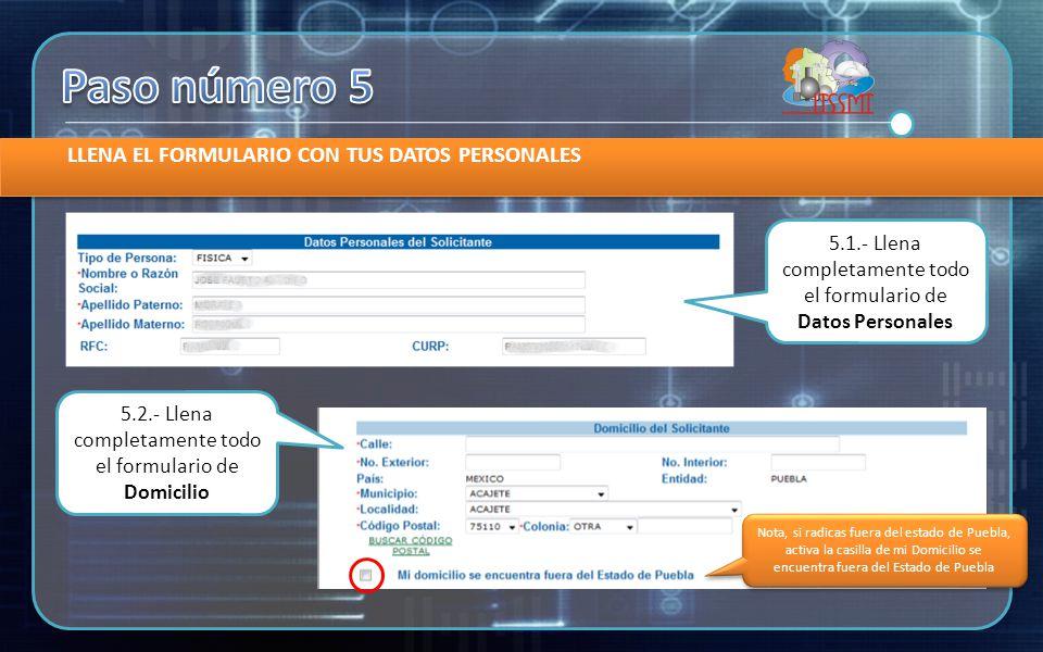 CONFIRMA TUS DATOS Y AVANZA A L A IMPRESIÓN DE LA REFERECIA DE PAGO 6.1.- verifica el monto a pagar 6.2.- clic en el botón Siguiente